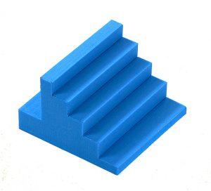 SPACE™ Finger 13 - Handtrappa i cellplast