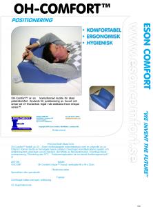 OH-Comfort™ - Positioneringskudde