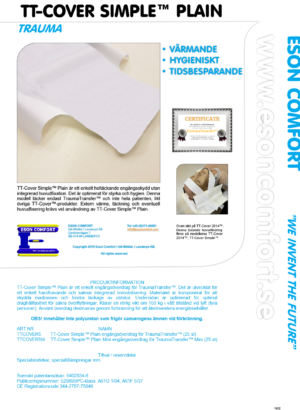 TT-Cover Simple™ Plain