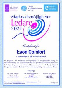 Certificate Eson